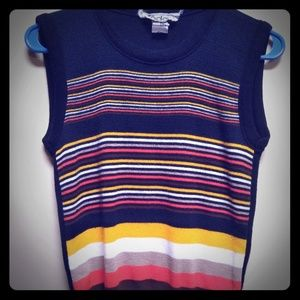 Vintage Sleeveless Sweater Vest S